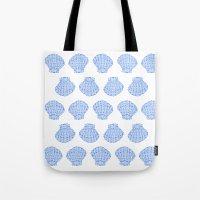 shells Tote Bags featuring Shells by BIGEHIBI