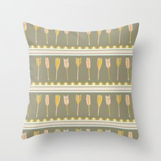 aztec arrows Throw Pillow