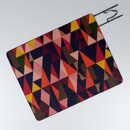 Vintage vibes_in warm hues Picnic Blanket