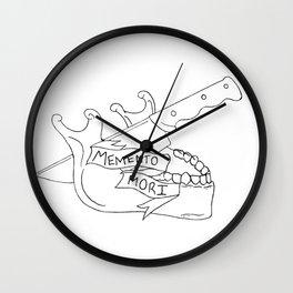 Menmento Mori Wall Clock