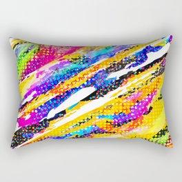 Color Splash Rectangular Pillow