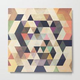 Geometric/Abstract TS Metal Print