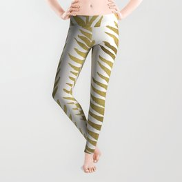 Golden Seaweed Leggings