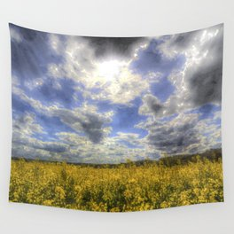 Farm Sky Art Wall Tapestry