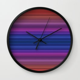 Between The Earth and The Sky Wall Clock