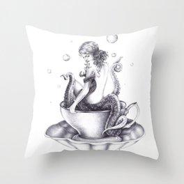 Tranquili-Tea  Throw Pillow