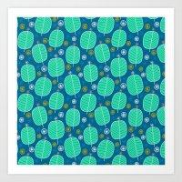Pattern Project #51 / Christmas Trees Art Print