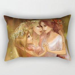 Charites/Las Gracias Rectangular Pillow
