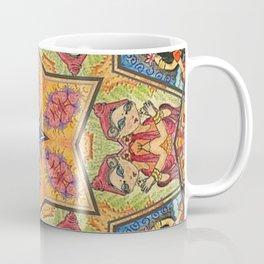Psychedelic Yoga Kalidoscope Art Coffee Mug