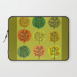 Tidy Trees All In Pretty Rows Laptop Sleeve