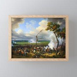 Horace Vernet - Battle Of Hanau - Digital Remastered Edition Framed Mini Art Print