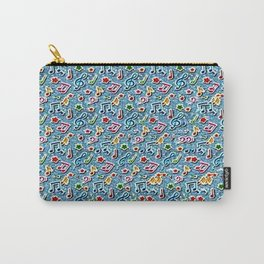 Music Stereogram Carry-All Pouch