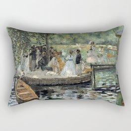 Pierre-Auguste Renoir - La Grenouillère Rectangular Pillow