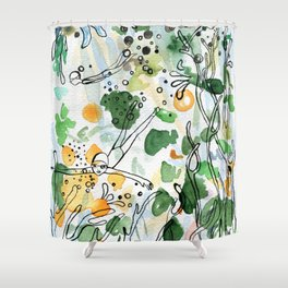 Coral reefs Shower Curtain