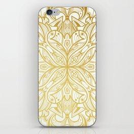 Gold in Mandala iPhone Skin