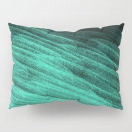 Aqua Step Waves Pillow Sham