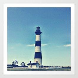 Carolina Lighthouse Art Print