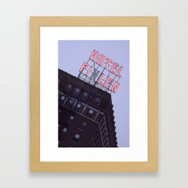 Finlen Hotel  Framed Art Print