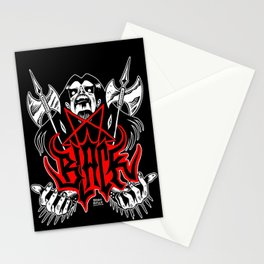 The Black Metal Stationery Cards