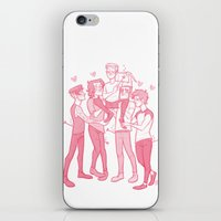 valentines iPhone & iPod Skins featuring Valentines by pygmy