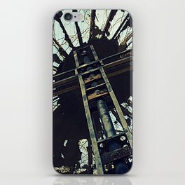 Hell House Cross iPhone Skin