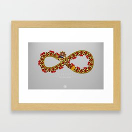 Xihucoatl - The Fire Serpent Framed Art Print