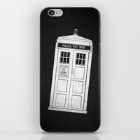 doctor who iPhone & iPod Skins featuring DOCTOR WHO by John Medbury (LAZY J Studios)
