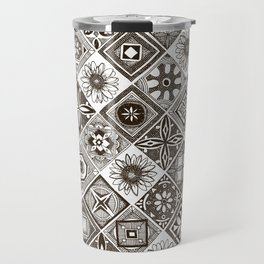 azulejos chocolate Travel Mug