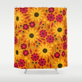 Fall is in th Air Shower Curtain