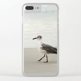 Seagull Stroll Clear iPhone Case