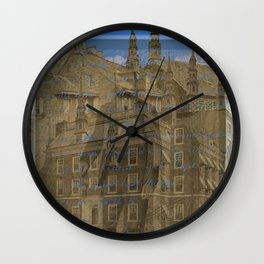 THE OTHER ARCHITECT'S MANSION III Wall Clock