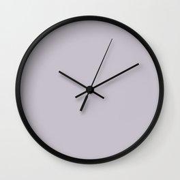 Rustic Wisteria ~ Lavender Wall Clock