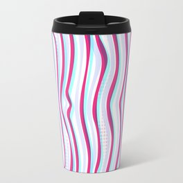 Lines in Motion Travel Mug