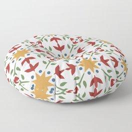 Starflower Quilt Pattern Floor Pillow