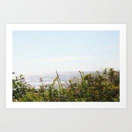 The Ocean Calls (Summer) Art Print