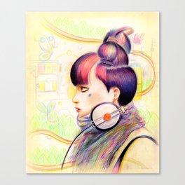 Sweet Dj Canvas Print