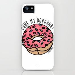Dunk My Doughnut iPhone Case