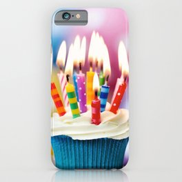 Birthday cake iPhone Case