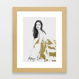 ADRIANA Framed Art Print