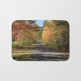 A Walk With Nature - Autumn Photography Bath Mat