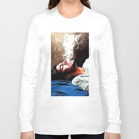 zayn malik Long Sleeve T-shirts featuring Zayn Malik #1 by dariemkova
