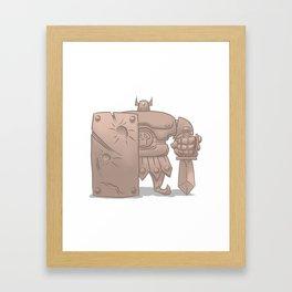 Armos Framed Art Print