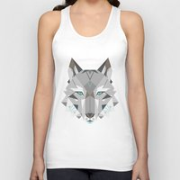into the wild Tank Tops featuring Wild by Nayla Smith