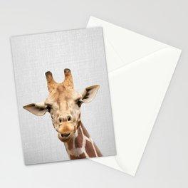 Giraffe 2 - Colorful Stationery Cards