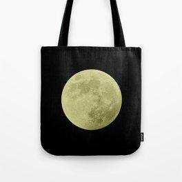 CANARY MOON // BLACK SKY Tote Bag