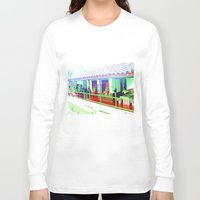 colombia Long Sleeve T-shirts featuring Colombia Coffee Park. by Alejandra Triana Muñoz (Alejandra Sweet