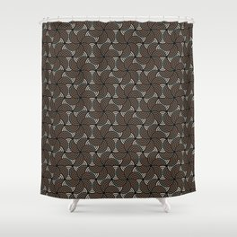 Horrible Patterns ~ Curves 80s Shower Curtain