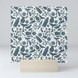 Acadia Pattern 3 Mini Art Print