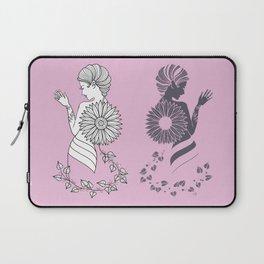 Ladies' Pink Elegance siluette Laptop Sleeve