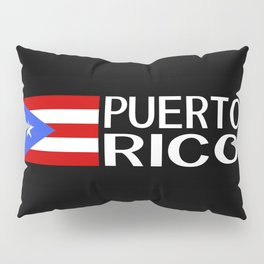 Puerto Rico: Puerto Rican Flag & Puerto Rico Pillow Sham